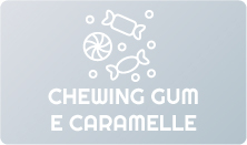 Chewing gum e caramelle