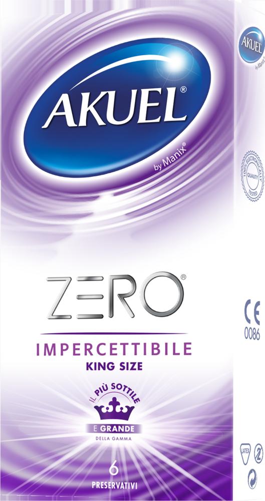 Profilattico ultra-sottile XL Zero King Size Akuel