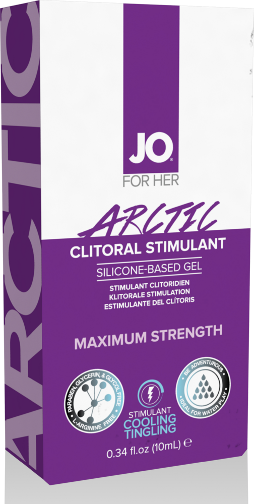 Gel stimolante clitorideo System Jo Clitoral Stimulant Cooling Arctic