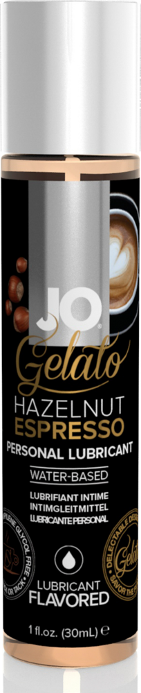 Lubrificante gusto espresso System JO Gelato Hazelnut Espresso Water-Based