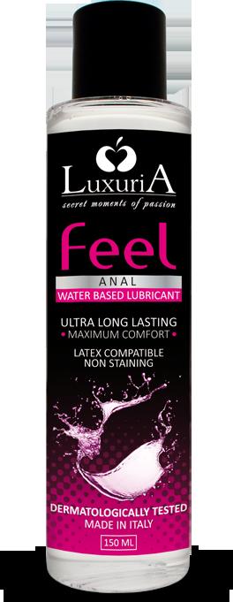 Luxuria Feel Anal - lubrificante a base acquosa