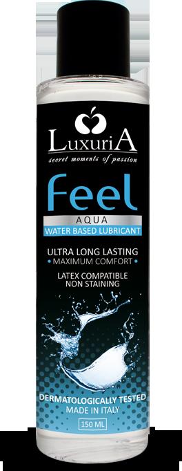 Luxuria Feel Aqua - lubrificante a base acquosa