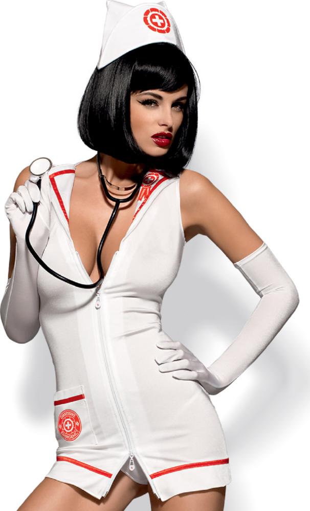 Emergency dress + stethoscope