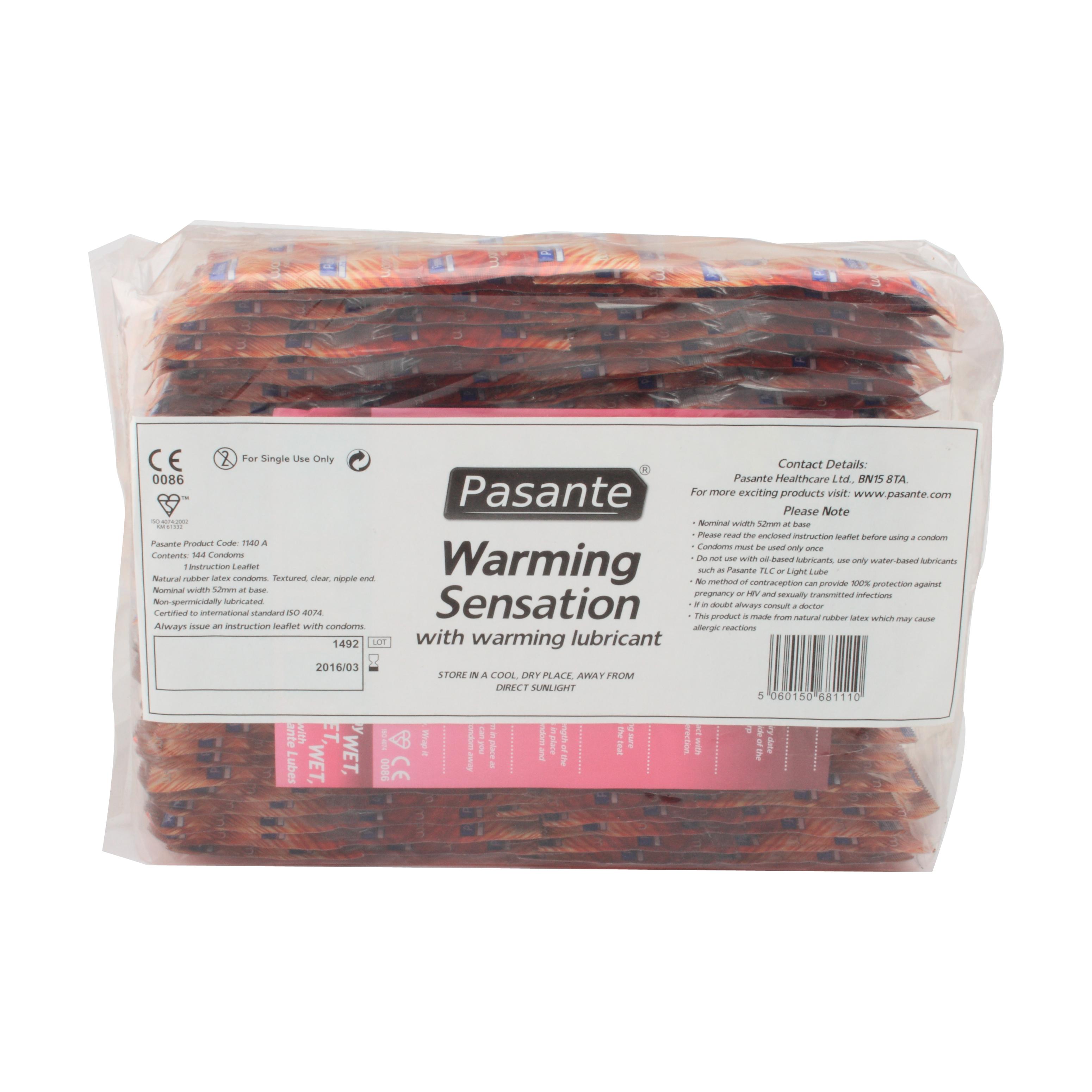 Pasante Warming Sensation 144 pezzi