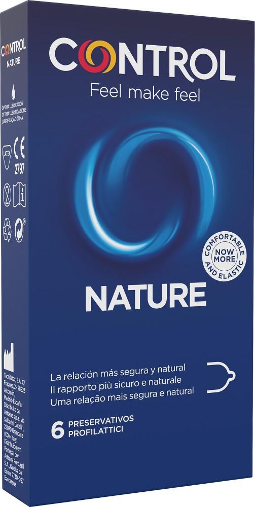 Control Adapta Nature - preservativi classici 6 pezzi