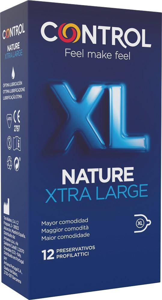 Control Nature XL - preservativi extralarge 12 pezzi