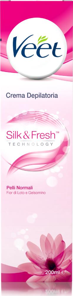 Crema depilatoria Silk & Fresh Technology Pelli normali Veet