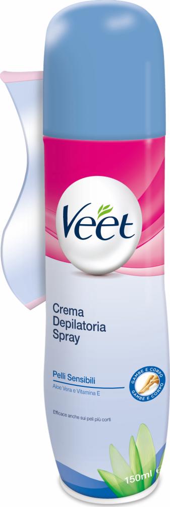 Spray depilatorio Spray Pelli Sensibili Veet