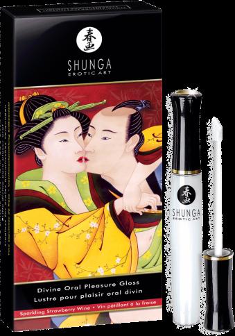 Shunga Divine Oral Pleasure Gloss - lucidalabbra per sesso orale
