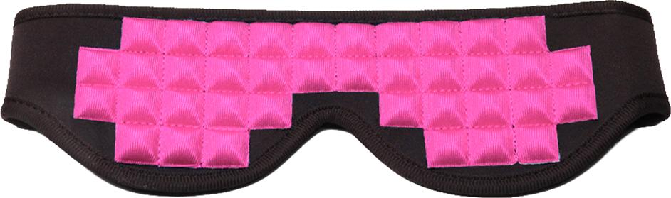 PicoBong See No Evil Blindfold - mascherina per occhi rosa