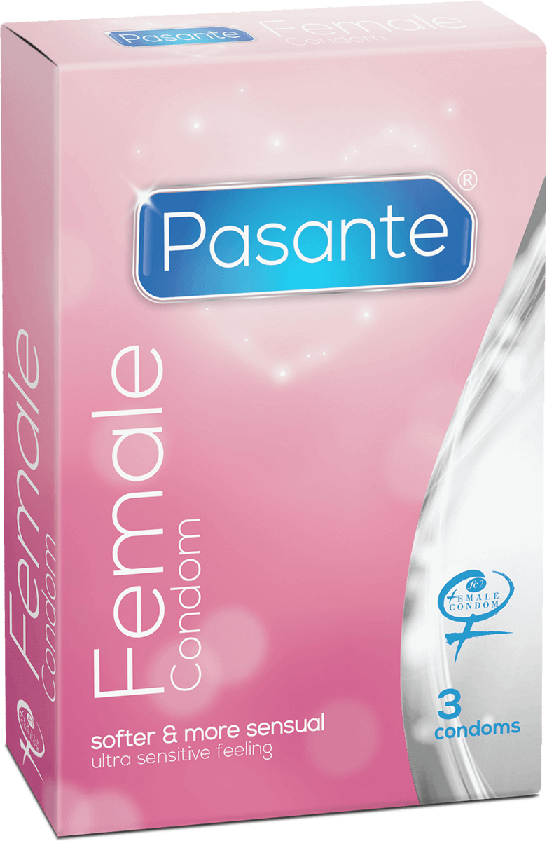 Pasante Female 3 pezzi - preservativi femminili