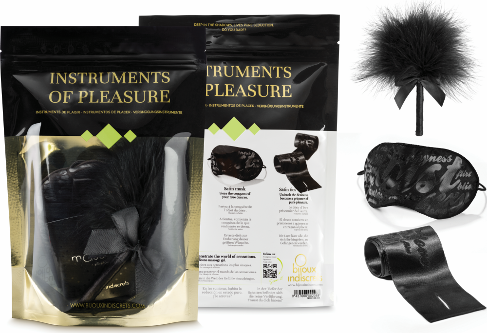 Kit del piacere Instruments of Pleasure Green Bijoux Indiscrets