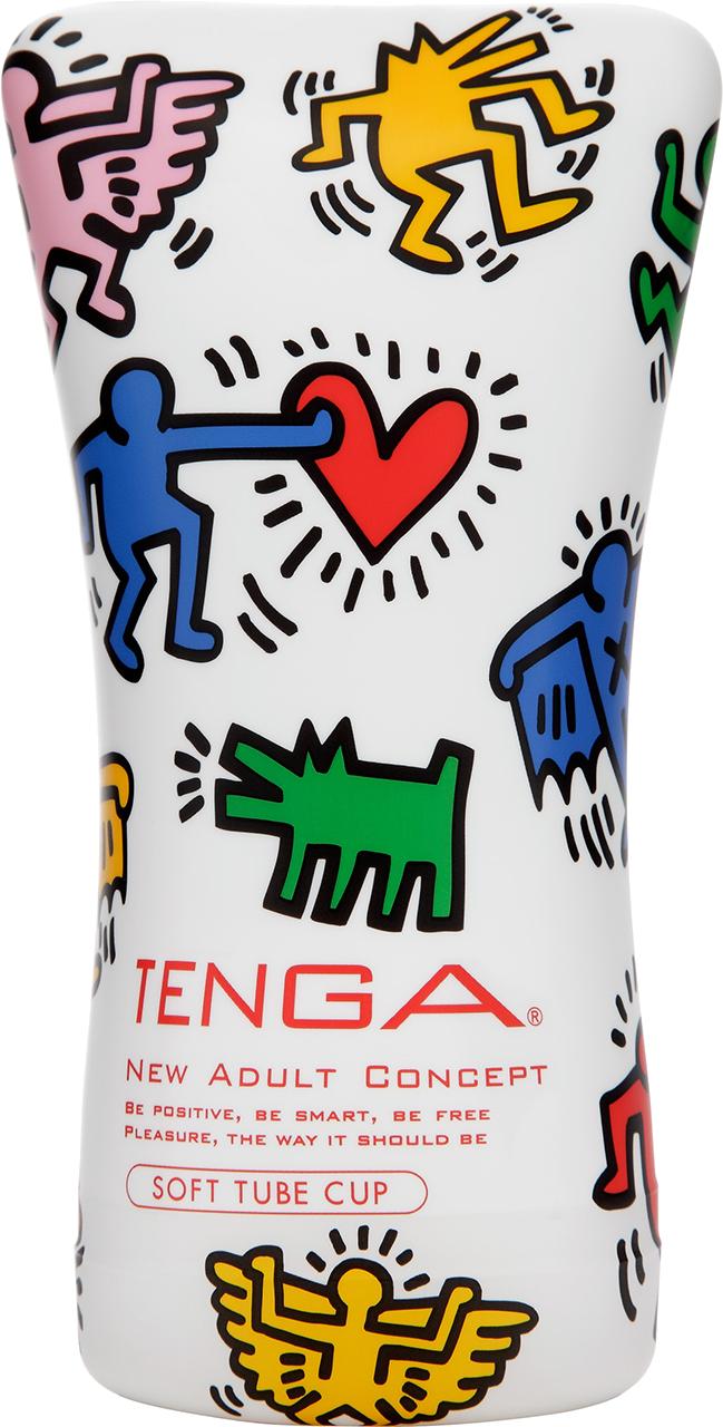 Tenga Cup Keith Haring Soft Tube masturbatore per lui