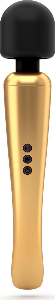Massaggiatore wand Megawand Gold Dorcel