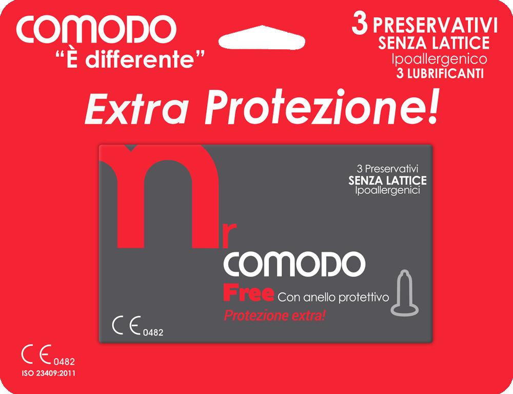mrComodo Free - preservativi anallergici