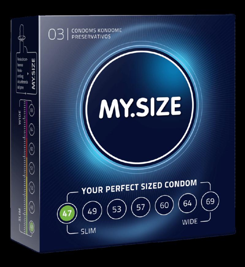 MY.SIZE preservativi 47mm - 3 pezzi