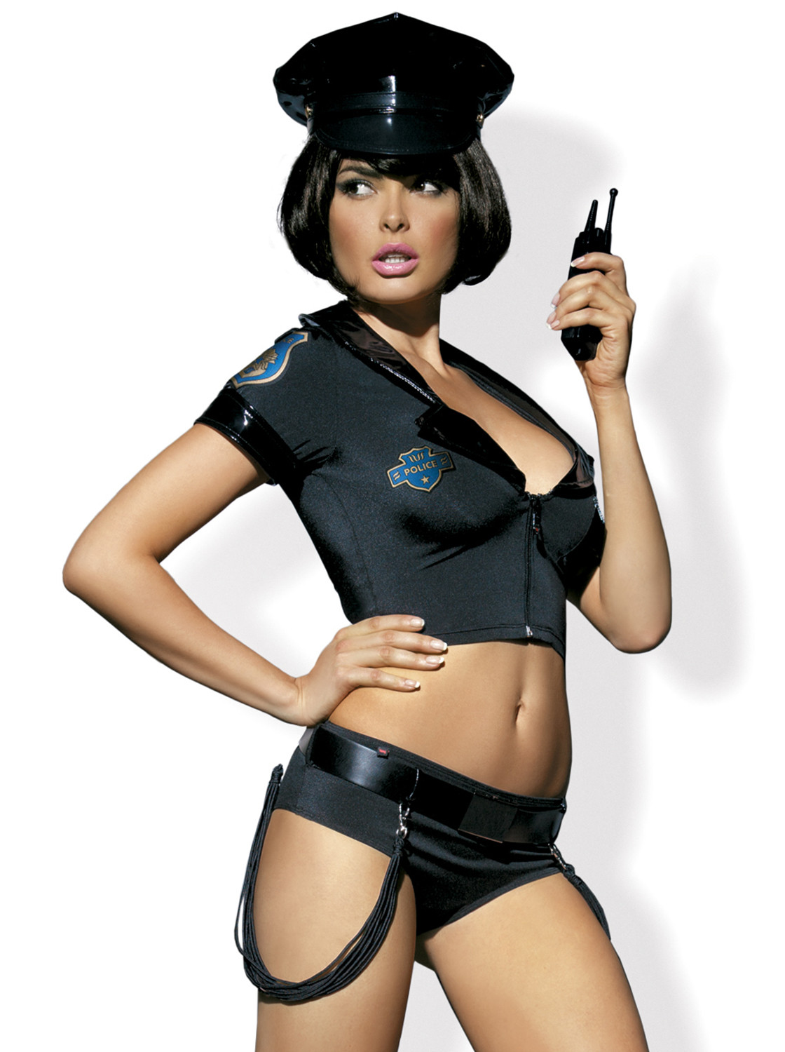 Costume sexy Police Corset by Obsessive