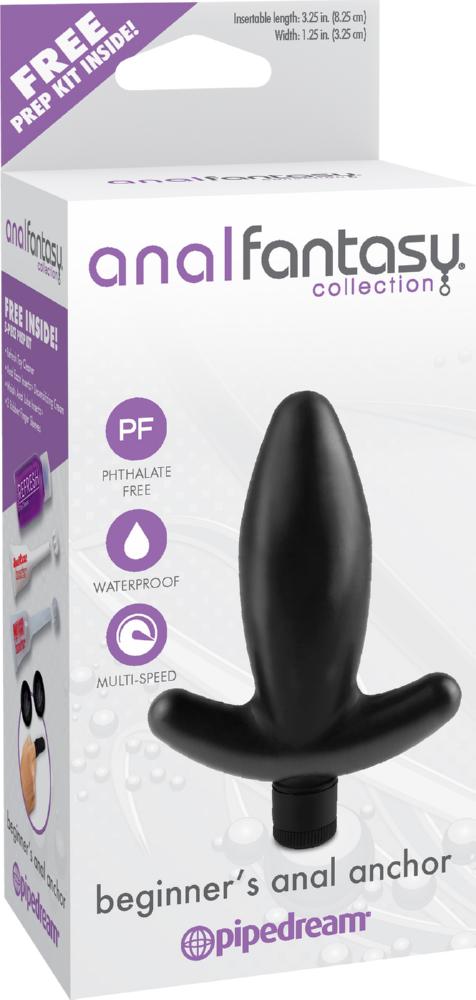 Butt plug vibrante Beginner's Anal Anchor Anal Fantasy