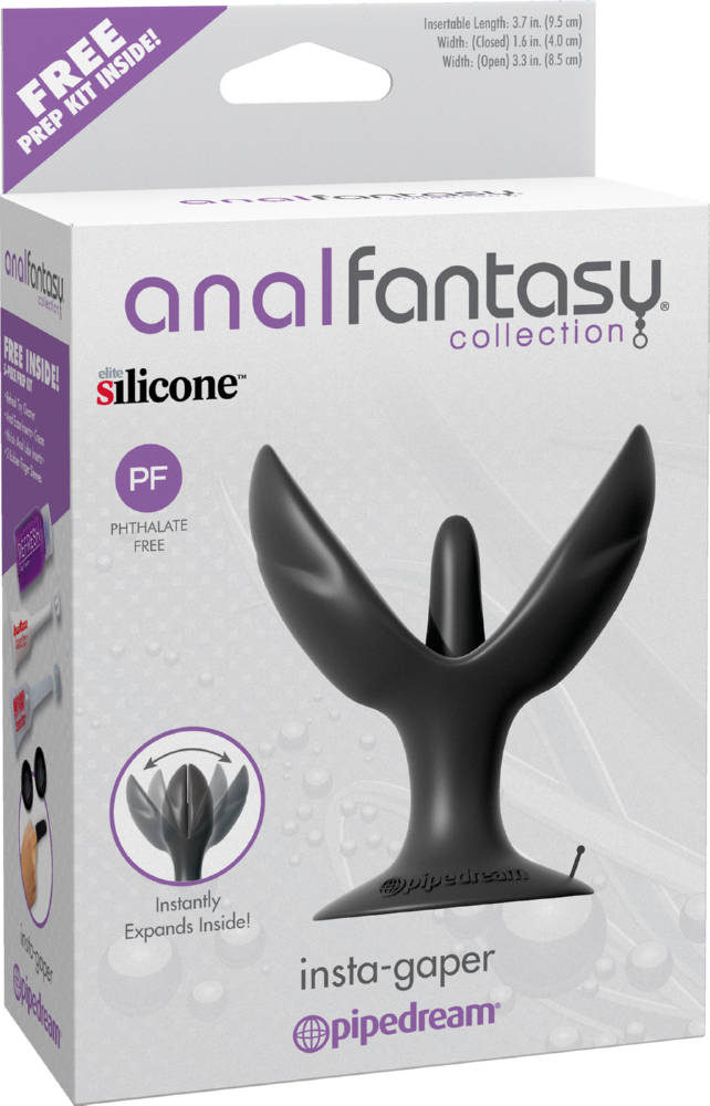 Plug dilatatore anale Insta-Graper Anal Fantasy