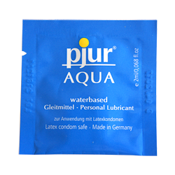Pjur Aqua gel lubrificante a base acquosa 2ml
