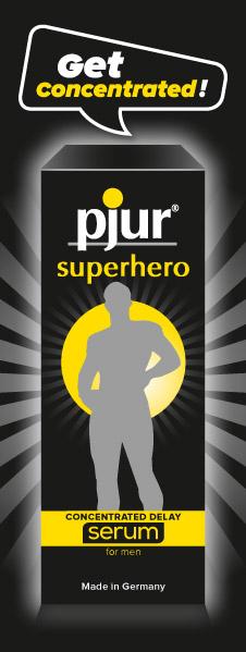 Pjur Superhero Serum - gel ritardante per lui 1.5ml