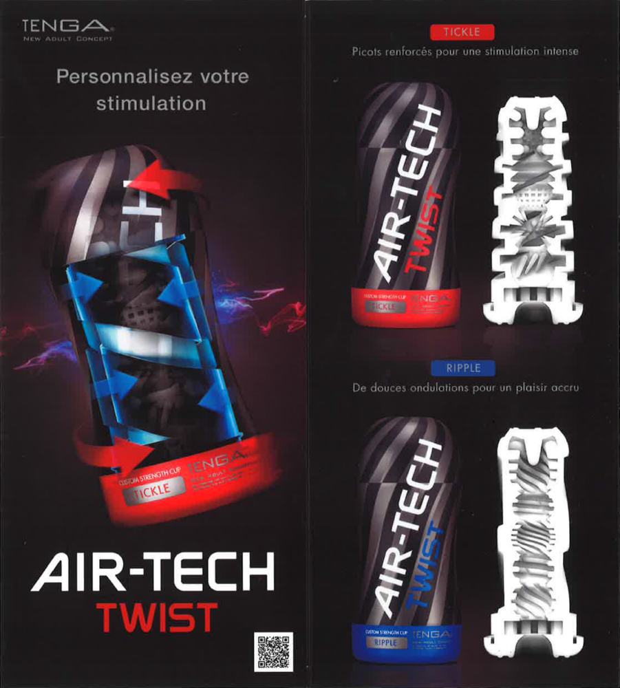 Flyer da banco Prism Tenga Air-Tech Twist