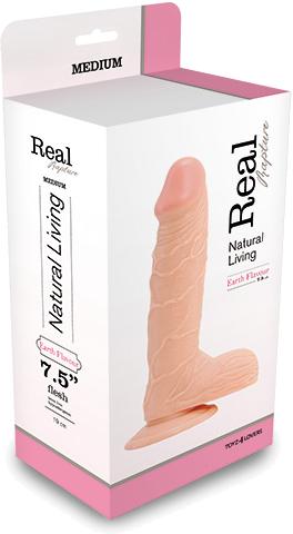 "Toyz4Lovers Real Rapture Flesh 7.5"" - fallo realistico"