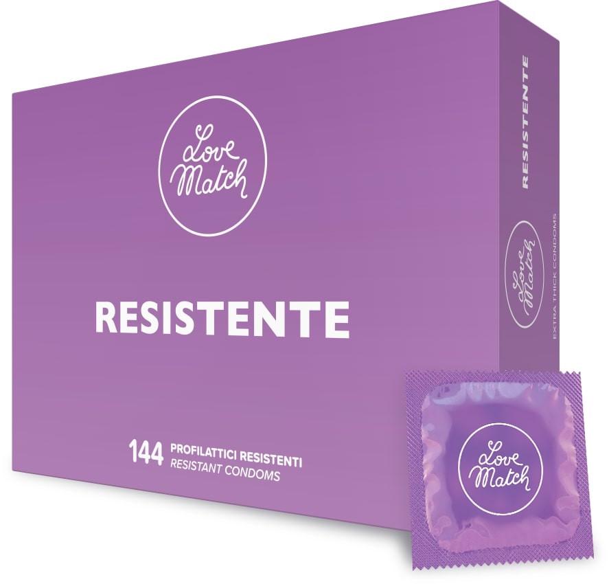 Love Match Resistente – 144 pezzi