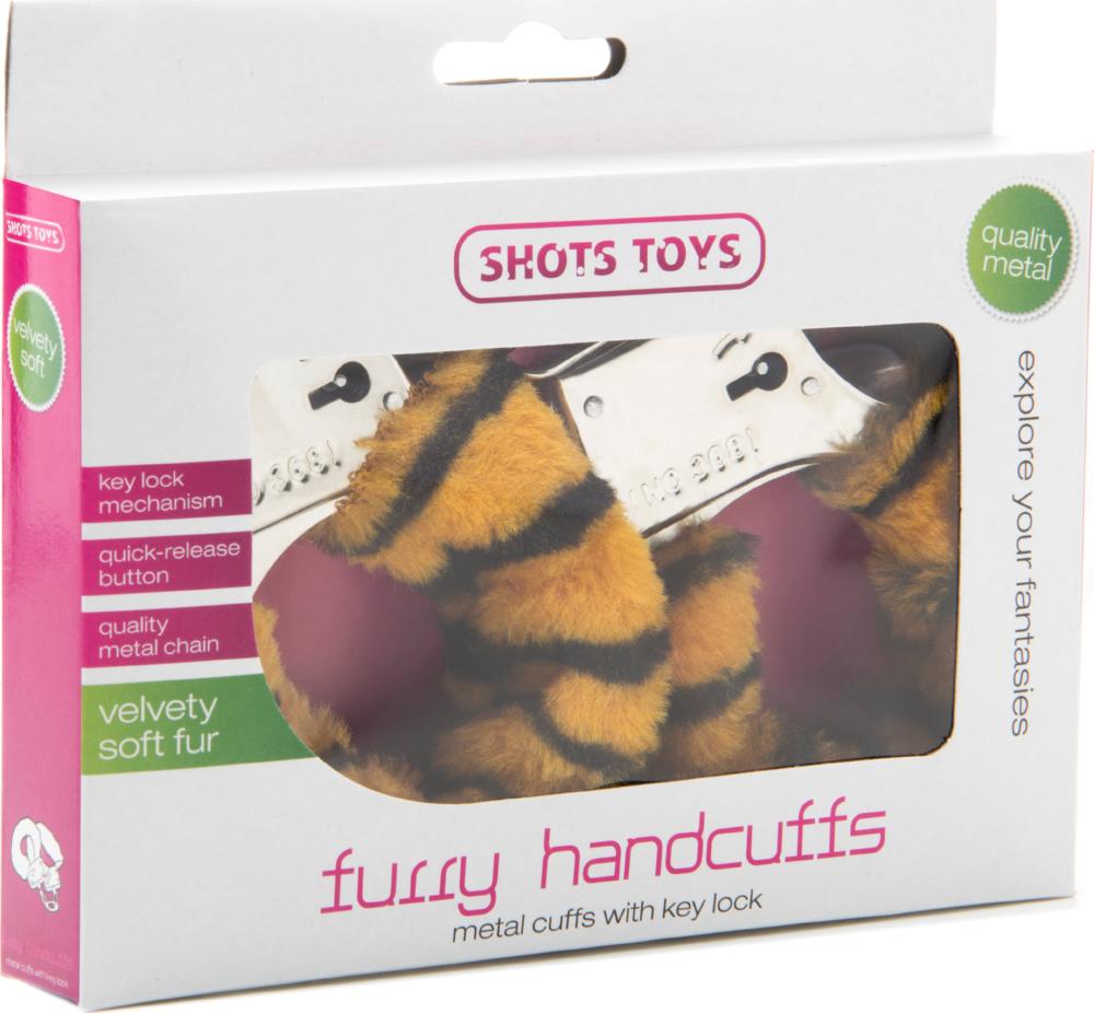 Manette sexy con peluche Furry Handcuff Tigre Shots Toys