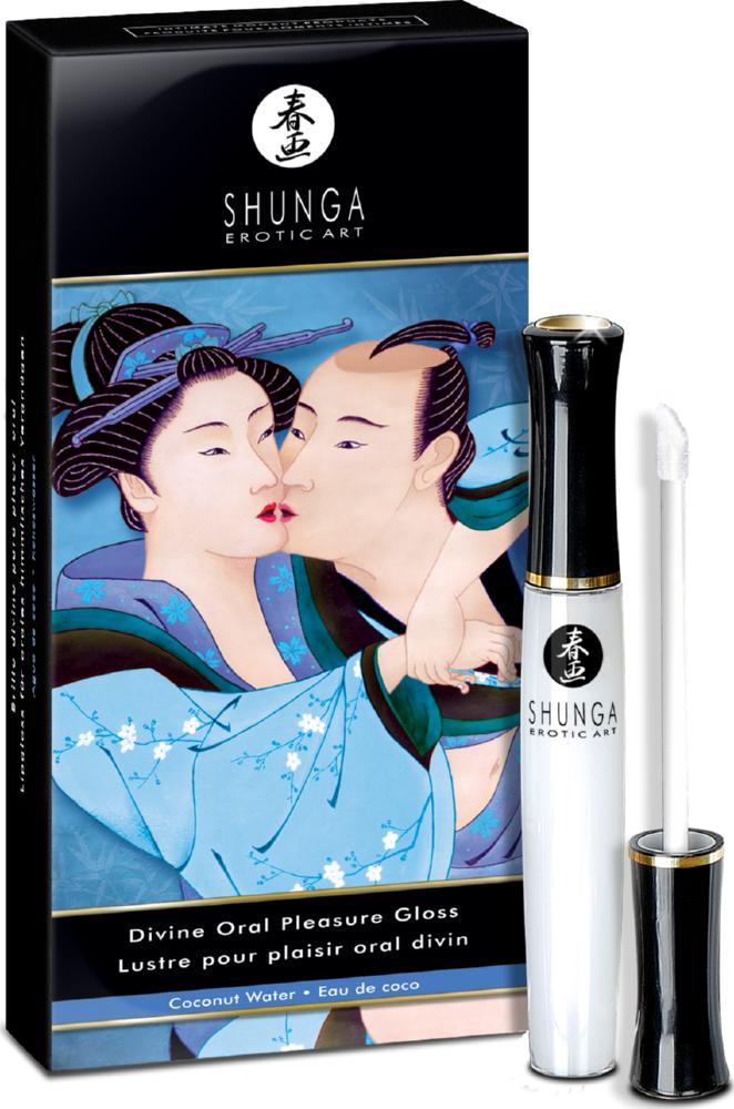 Lucidalabbra per sesso orale Divine Oral Pleasure Gloss Coco Water Shunga