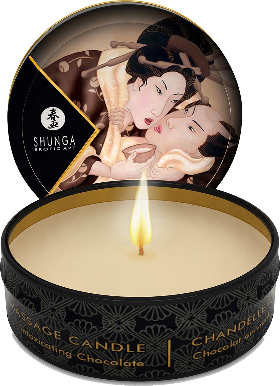 Shunga Erotic Art Excitation - candela da massaggio