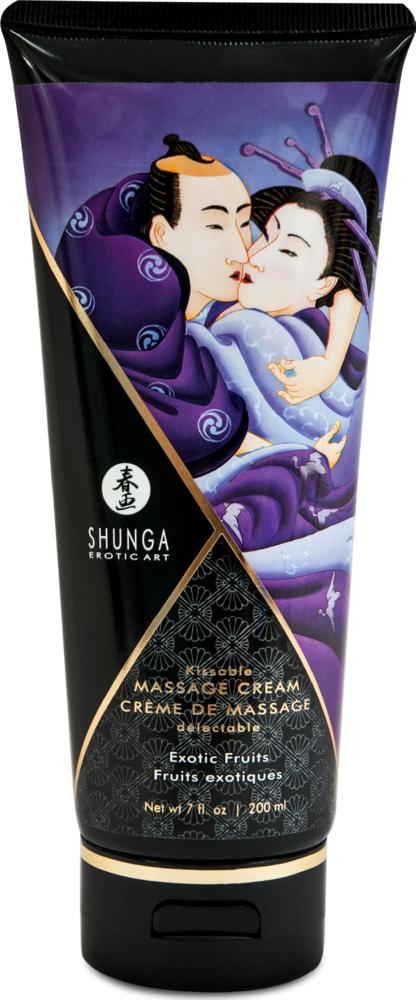 Crema da massaggio edibile Edible Massage Cream Exotic Fruits Shunga