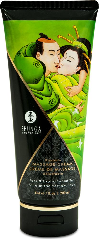 Crema da massaggio edibile Edible Massage cream Pera & Green Tea Shunga
