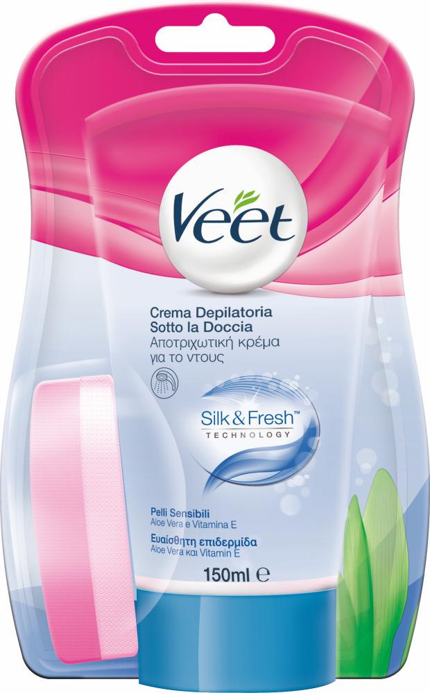 Sotto la Doccia Silk&Fresh - Pelli Sensibili