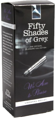 Fifty Shades of Grey We Aim to Please - ovetto vibrante