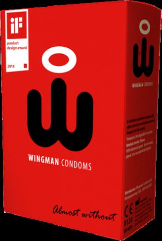 Wingman - preservativi con le ali 8 pezzi