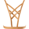 Maze Cross Cleavage Harness - marrone