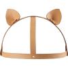 Maze Cat Ears Headpiece - marrone