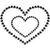 Mimi Heart - nero