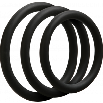 Doc Johnson 3 C-Ring Set Thin - set cockring