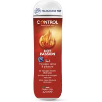 Lubrificante effetto caldo Control Hot Passion - gel 3in1 200ml