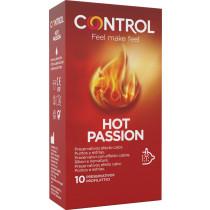 Preservativi stimolanti effetto caldo Control Hot Passion