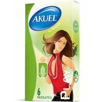 Akuel Play - preservativi classici 6 pezzi