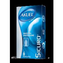 Akuel Sicuro - preservativi resistenti 6 pezzi