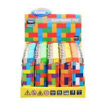 Accendini Elettronici F10 Piezo Maxi Tiles - Box 50 accendini
