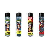 Accendini Festival Joker - Box 48 accendini ricaricabili