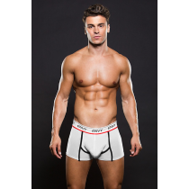 Boxer Mesh Trunk White