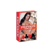 Carte erotiche Private Playing Cards - 54 carte