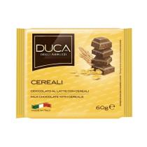 Duca degli Abruzzi Tavoletta cioccolata ai cereali 15 pezzi x 75 gr