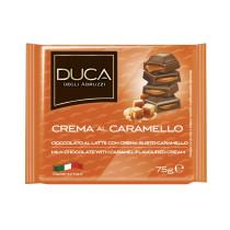 Duca degli Abruzzi Tavoletta cioccolata crema al caramello 15 pezzi x 75 gr